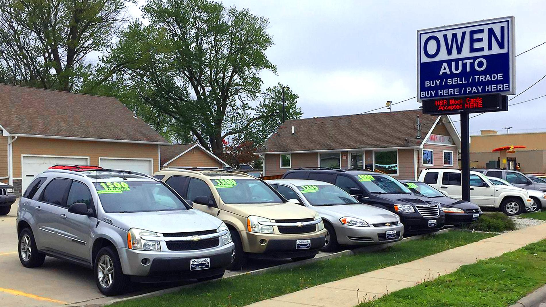Owen Auto | Buy Here Pay Here Dealer Des Moines :: Buy Here Pay Here Dealer  Des Moines IA, Used Cars Des Moines, Bad Credit Auto Loans Des Moines IA,  ...