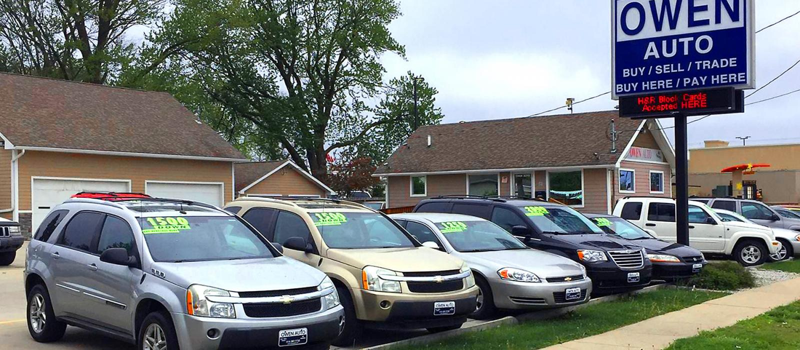 By Here Pay Here >> Owen Auto Buy Here Pay Here Dealer Des Moines Ia